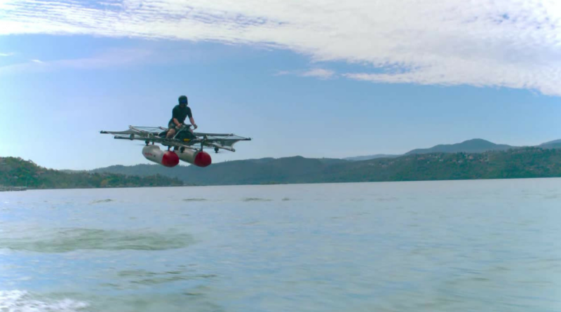 Silicon Valley Flying Car: Kitty Hawk piloted IT north of San Francisco!