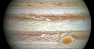 Surprise! Jupiter Has a Great 'Cold' Spot, Too