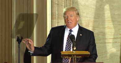 Trump at U.S. Holocaust Memorial Museum's National Days of Remembrance