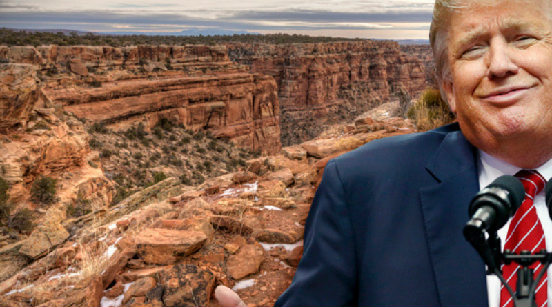 Trump take on national monuments.