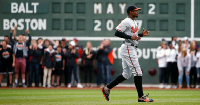 Adam Jones speaks about incident with Red Sox fans