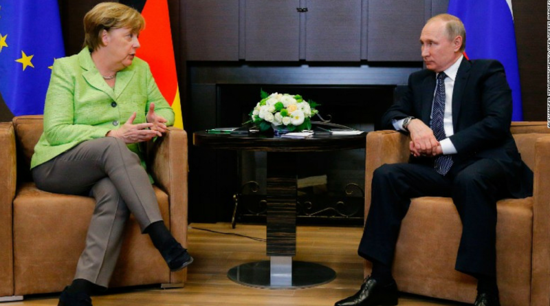 Merkel to Meets Putin_ Amiding tensions over Syrian war, Ukraine crisis.
